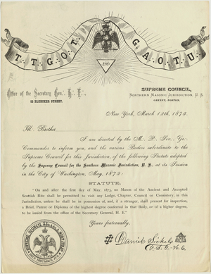 Scottish Rite Documents