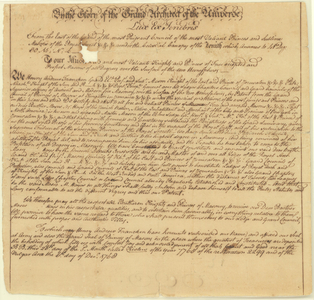 Copy of a patent issued to Moses Michael Hays