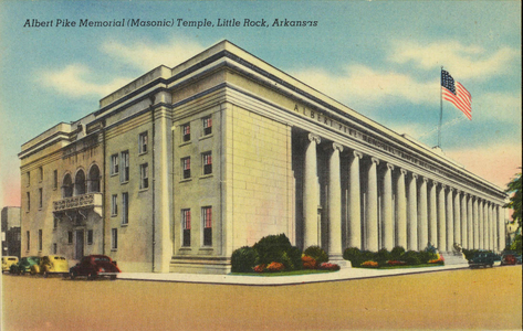 Albert Pike Memorial Temple, Little Rock, Arkansas