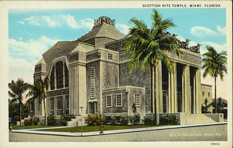Postcard Views of Scottish Rite Buildings