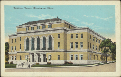 Consistory Temple, Bloomington, Illinois