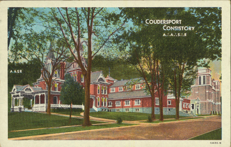 Coudersport Consistory Building, Coudersport, Pennsylvania