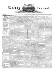 Chicopee Weekly Journal, December 24, 1853