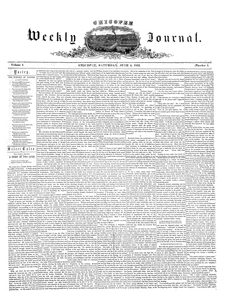 Chicopee Weekly Journal, June 4, 1853