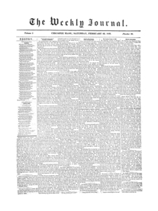 Chicopee Weekly Journal, February 23, 1856
