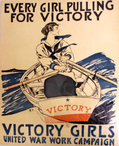 World War I Poster - Victory Girls