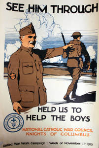 World War I Poster - See Him Through