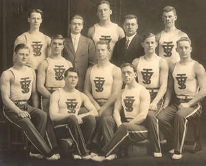 Springfield College Men's Gymnastics Team 1912