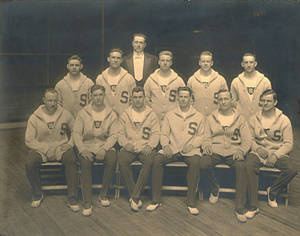 Springfield College Men's Gymnastics Team 1913-1914