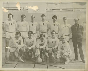 1971-1972 Men's Volleyball Team at Springfield College
