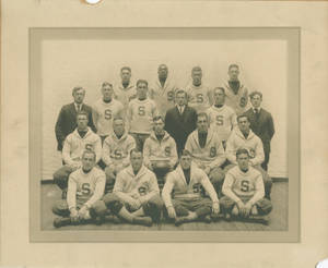 1916 Football Team at Springfield College
