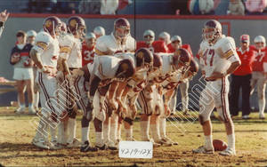 Springfield College Football Game, 1984
