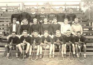 1934 Springfield College Men's Freshmen Lacrosse Team