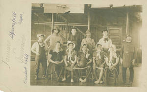 The Farmers vs. the Mermaids - early Springfield College Basketball teams