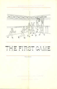"""The First Game"" pamphlet"
