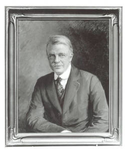 Dr. Luther Halsey Gulick painting
