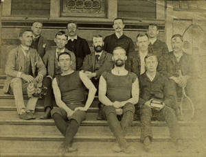 Students from the Springfield College Class of 1890 and 1891