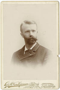 Luther Gulick Cabinet Card