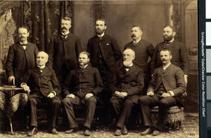 Springfield College Faculty, ca. 1889
