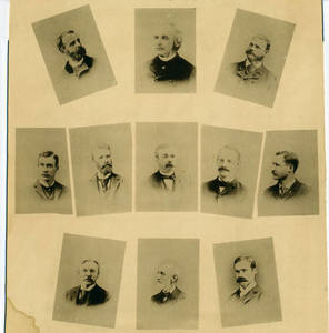 Springfield College Faculty c. 1891