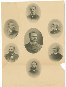 1886-1887 YMCA Training School Faculty