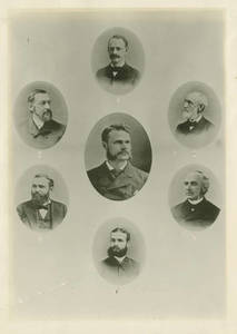 Springfield College Faculty, c. 1886-1887