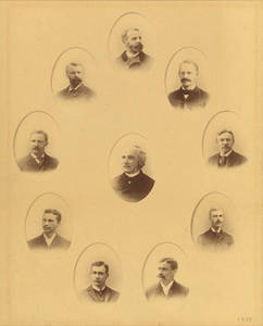 1893 YMCA Training School Faculty