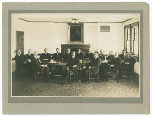 Faculty of the International YMCA College (1915)