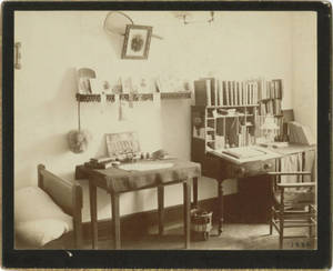 Dormitory Room in School for Christian Workers Building, c. 1888