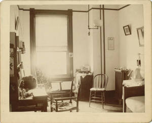 School for Christian Workers Dormitory Room, c. 1893