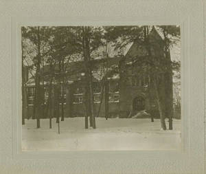 East Gymnasium in Winter, 1898
