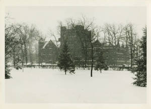 Judd Gymnasia in the Snow