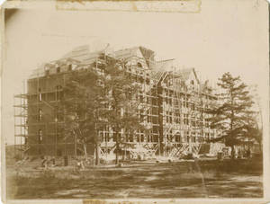 Administration Building Construction, 1895