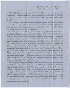 Benjamin Silliman, Jr. letter to Edward Hitchcock, 1854 June 26