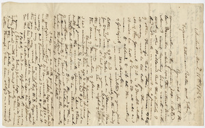 Edward Hitchcock letter to Benjamin Silliman and Benjamin Silliman, Jr., 1844 March 11