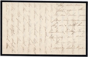 Letter from unidentified correspondent to Jane Hitchcock Putnam, 1864 March 3