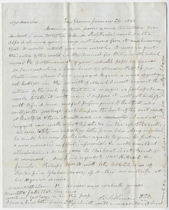 Benjamin Silliman and Benjamin Silliman, Jr. letter to Edward Hitchcock, 1844 January 29