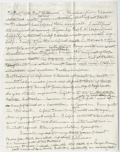 Benjamin Silliman letter to Edward Hitchcock, 1855 September 17