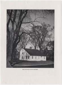 Edward Hitchcock's childhood home, Deerfield