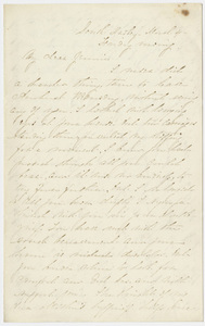Letter from unidentified correspondent to Jane Hitchcock Putnam, 1864 March 4