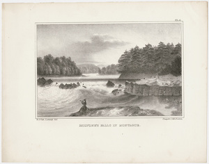 Holyoke's falls in Montague