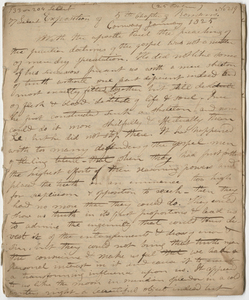 """Edward Hitchcock sermon no. 219, """"Exposition of 5th Chapter of Romans,"""" 1825 January"""