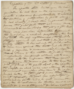 """Edward Hitchcock sermon no. 226, """"Exposition of the 4th Chapter of Romans,"""" 1825 January"""