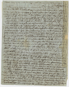 Justin Perkins letter to Edward Hitchcock, 1844 August 28