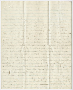 Edward Hitchcock, Jr. letter to Edward Hitchcock, 1860 May 25