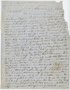 Justin Perkins letter to Edward Hitchcock, 1849 July 22