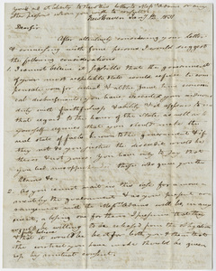 Benjamin Silliman letter to Edward Hitchcock, 1831 January 12