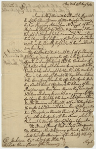 Jeffery Amherst letter to Charles Jenkinson, 1763 August 13
