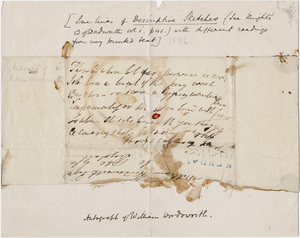 William Wordsworth Manuscript Collection