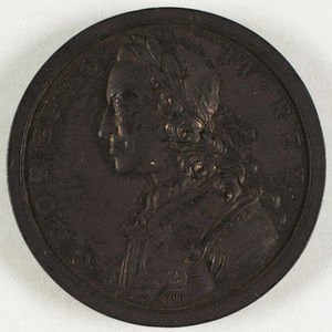 Bronze medal commemorating the British military successes of 1759